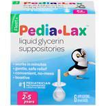 - Fleet Children's Pedia-Lax Liquid Glycerin Laxative Suppositories 6.0 ea (pack of 1)