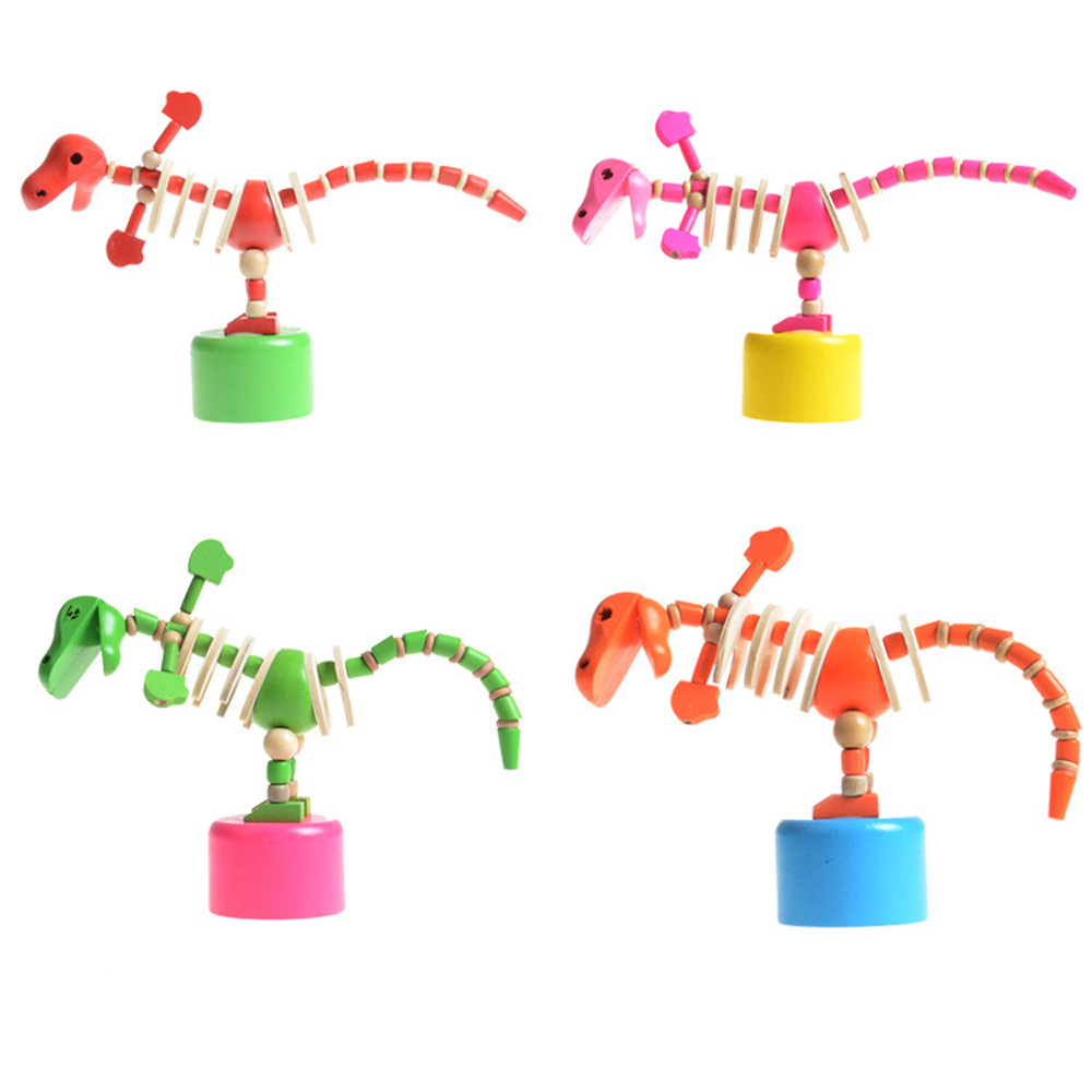 Womail Colorful Cartoon Animal Model Toys Kids Educational Toys Dinosaur Model