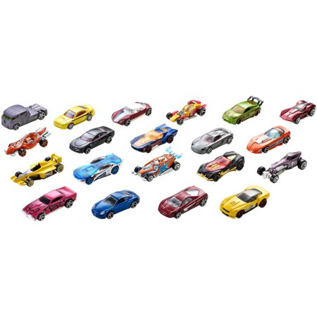 Hot Wheels 20 Die Cast Car Gift Pack  Styles May Vary