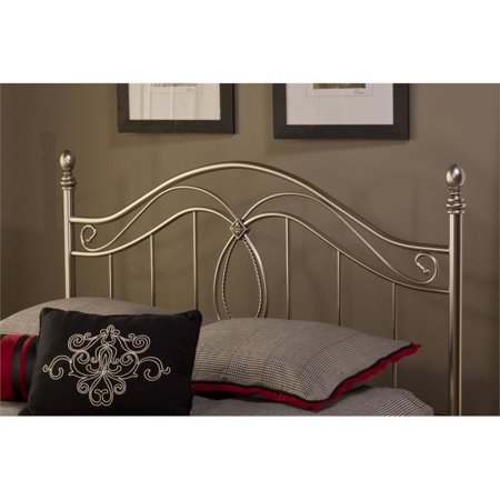 Hillsdale Milano King Poster Headboard in Antique Pewter