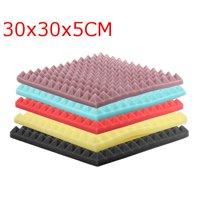 30x30x5cm Acoustic Soundproofing Sound Absorbing Noise Foam Tiles