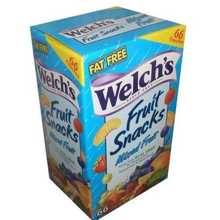 Welch's Mixed Fruits Snacks: 66 Count