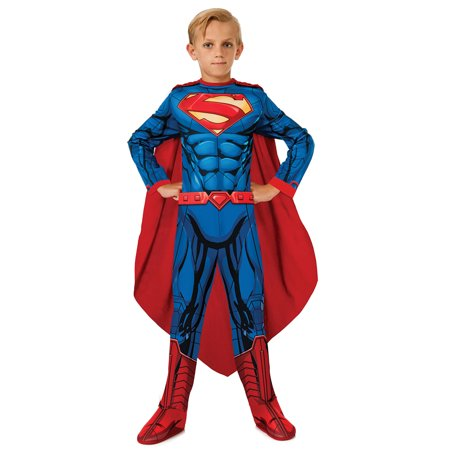 Morris Costumes Boys Superman Child Large, Style (40's Style Costumes)