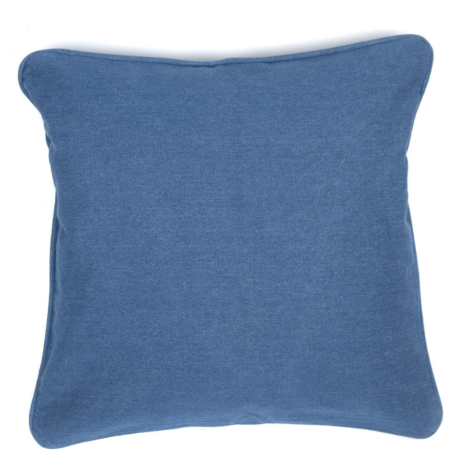 Denim Indigo Pillow