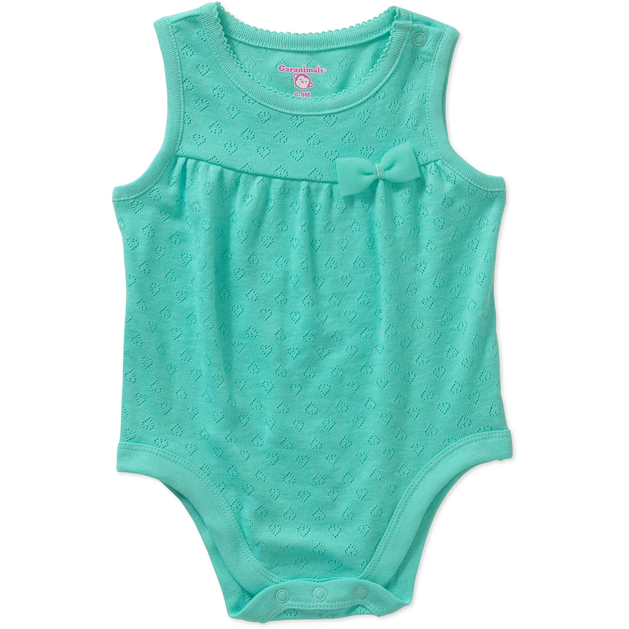 Garanimals Newborn Baby Girl Pointelle Tank Bodysuit