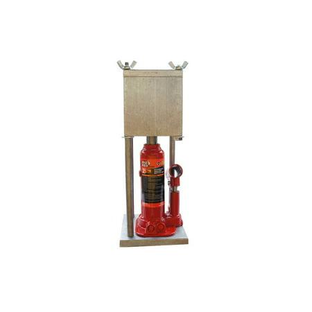 HTP MEGA SQUARE PRESS, Newest 2-Ton Hydraulic Press 12 Ton Shop Press