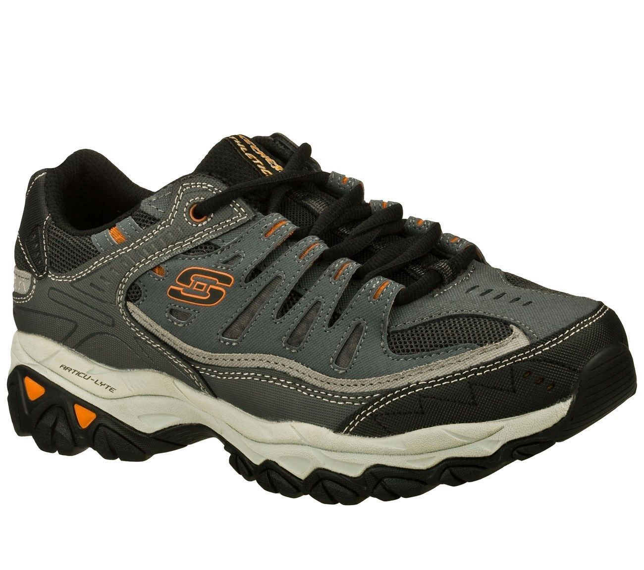 7bf13047f7ec Skechers - Skechers 50125EWW CCGY Men s AFTER BURN-MEMORY FIT Training Shoes  (EXTRA WIDE) - Walmart.com