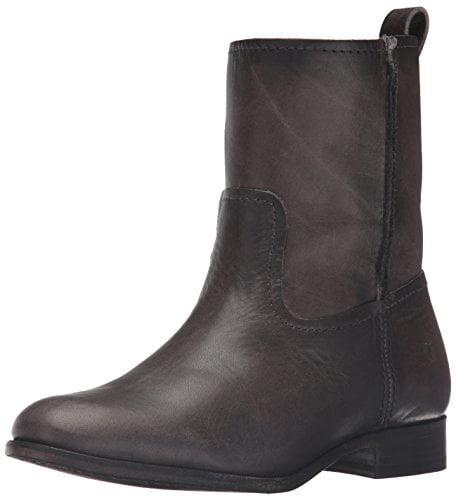 168360927a7 FRYE Women's CARA Short Boot, Smoke, 7 M US