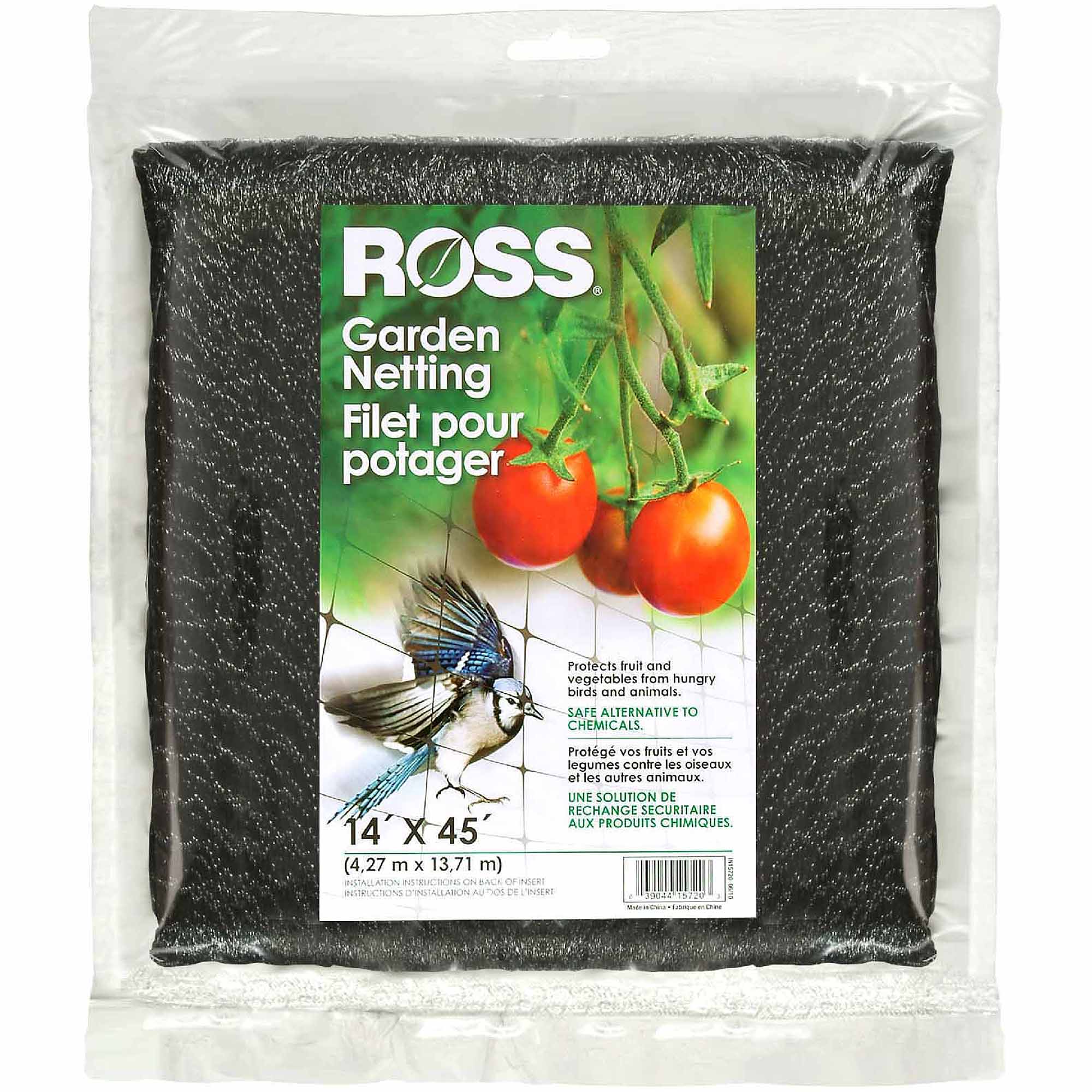 Ross Easy Gardener/Weedblock 14' x 45' Garden Netting
