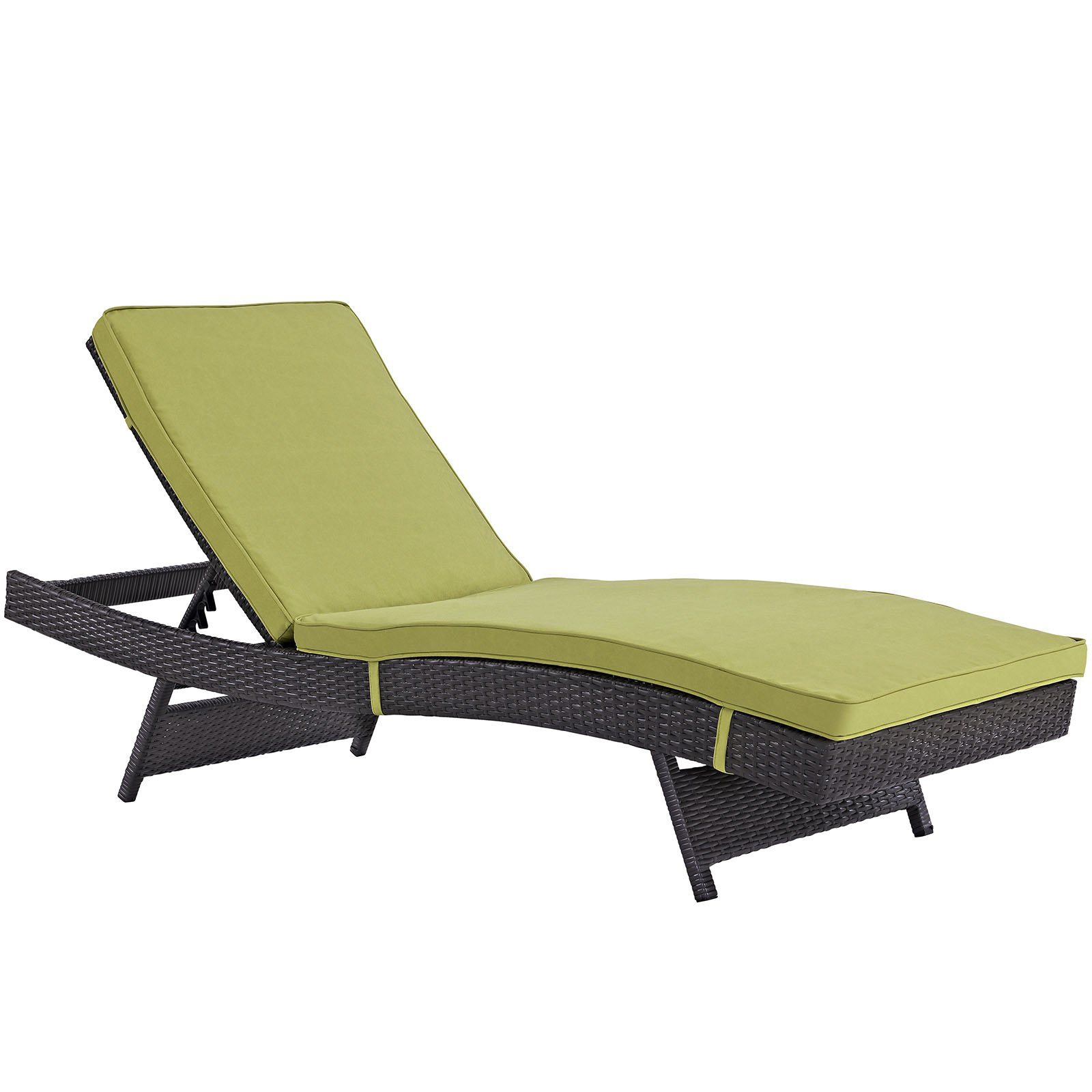 Modway Peer Wicker Outdoor Chaise Lounge