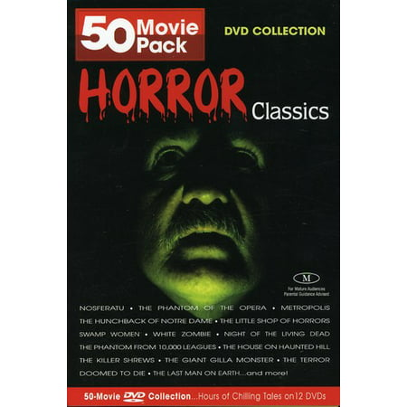 Horror Classics (50 Movies) (DVD) (Horror Movie Halloween Makeup)
