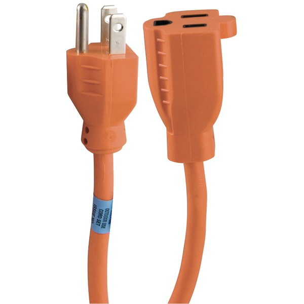 GE 51924 1-Outlet Indoor/Outdoor Extension Cord (25ft)