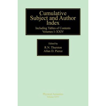 Author Index (Cumulative Subject and Author Index, Including Tables of Contents Volumes 1-23 -)