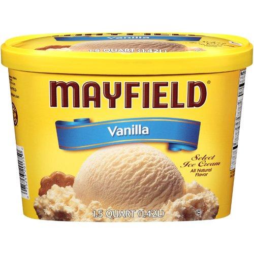 Mayfield Vanilla Ice Cream, 1.5 qt