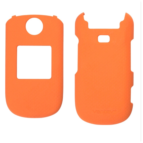 Ventev - Soft Touch Case for Samsung SCH-R270 Cell Phones - Orange