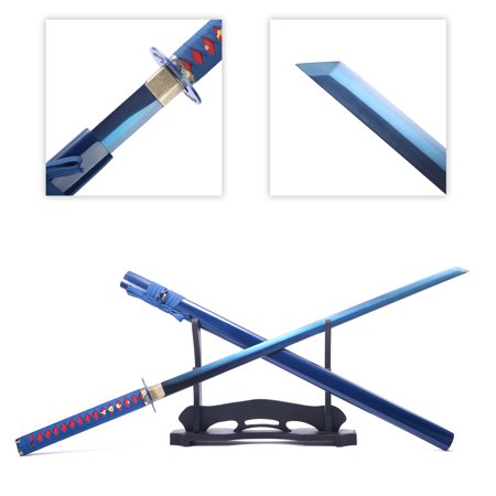 Full Tang Straight Sword, Battle Ready Samurai Chinese Straight Sword Tang Dao