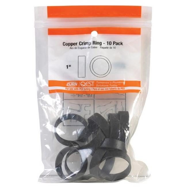 Nibco PX80935R10 Qest 1 in. Pex Crimp Ring - image 1 de 1