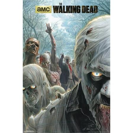 Walking Dead - Zombie Hoard Poster Print](Rob Zombie Halloween 2 Poster)