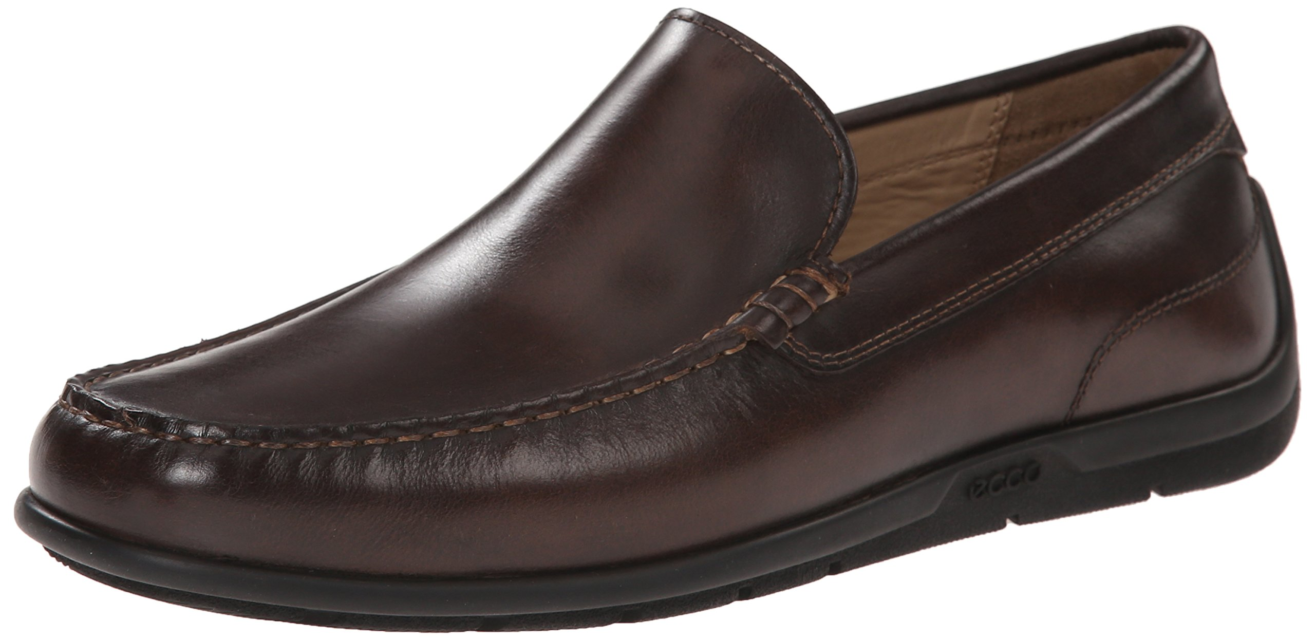 ECCO Men's Classic Moc 2.0 Slip-On Loafer (Coffee, 8-8.5 D(M) US) by Ecco