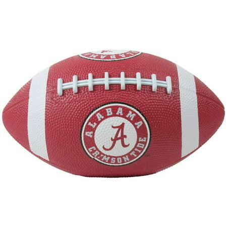 Alabama Crimson Tide Mini Rubber Football (Personalized Mini Footballs)