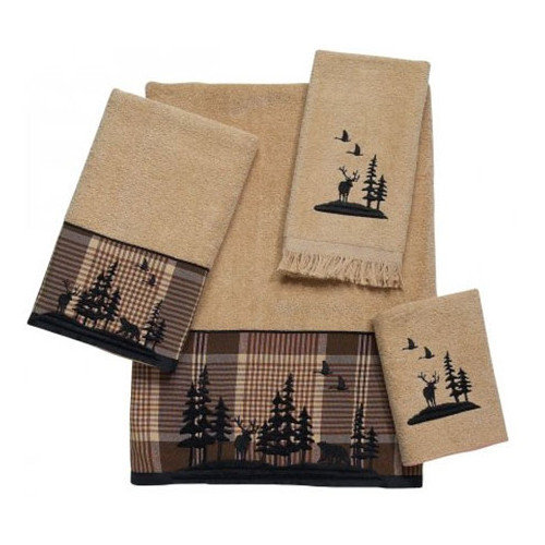 Avanti Linens Woodlands 4 Piece Towel Set