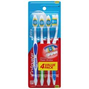 Colgate Extra Clean Full Head Toothbrush, Medium - 4 Count