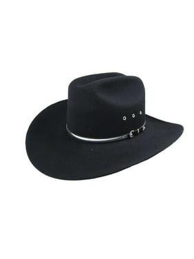 30404ae5feabf Product Image Bailey Cowboy Hat Mens Shiny Hatband Buckle Detail Wool Yuma  2X 423-2. Bailey Western
