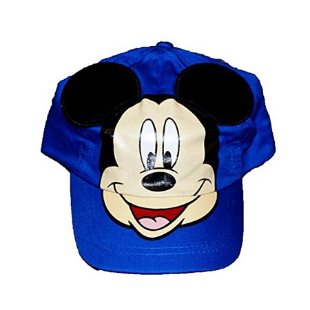 Disney Mickey Mouse With Pop - Up Ears Baby Boys Baseball Hat - Blue