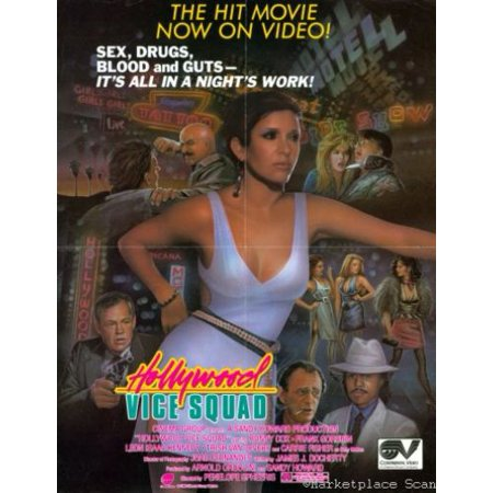 Hollywood Vice Squad Movie Poster 11x17 Mini Poster in Mail/storage/gift tube