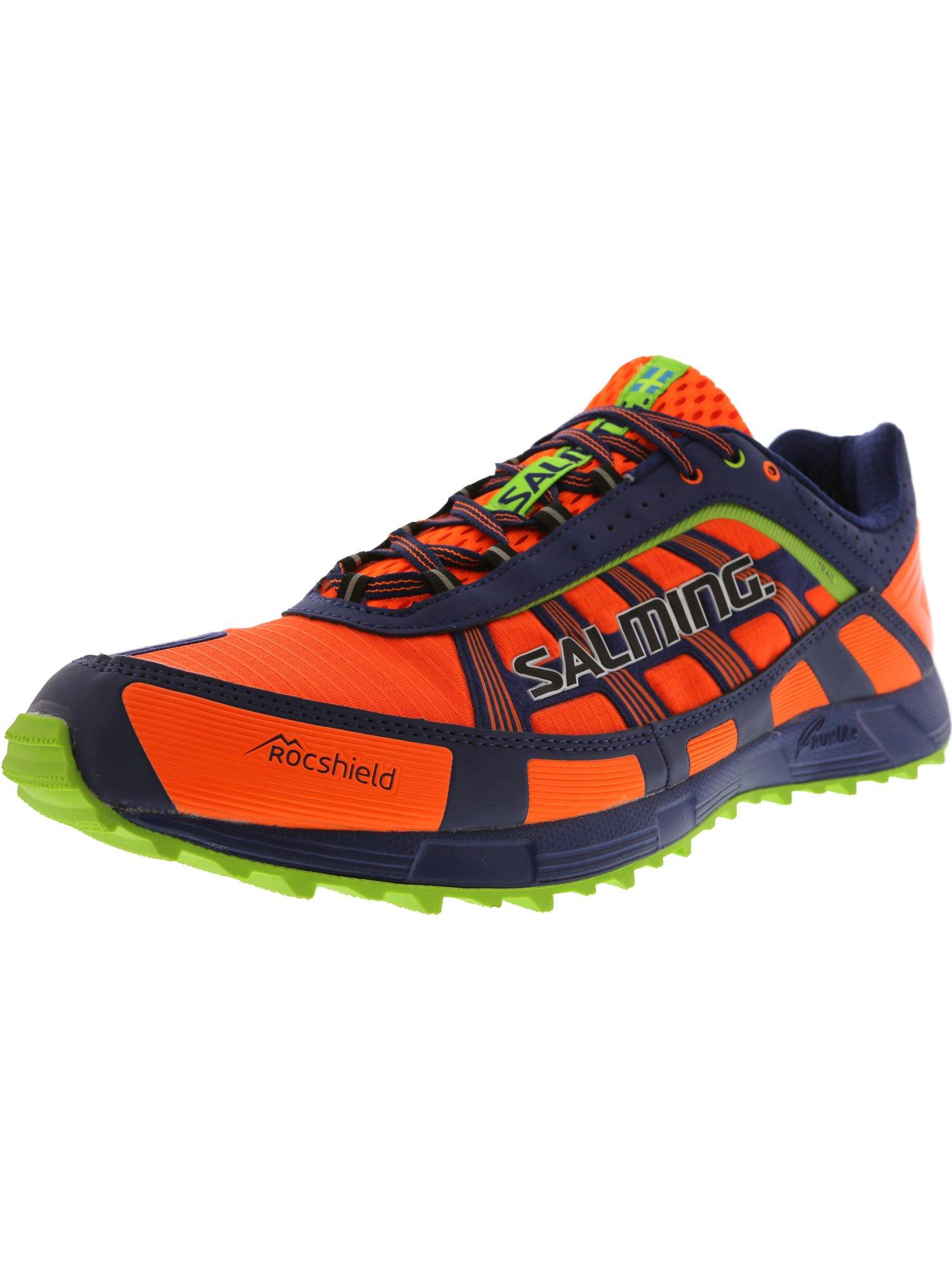 8b468a3e9336 Salming Men s Trail T3 Shocking Orange   Deep Blue Ankle-High Runner - 12.5M