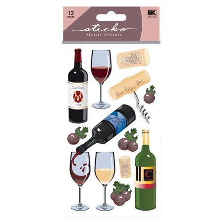 Sticko Classic Wine Sticker