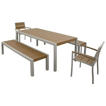 Trex Bench Dining Set