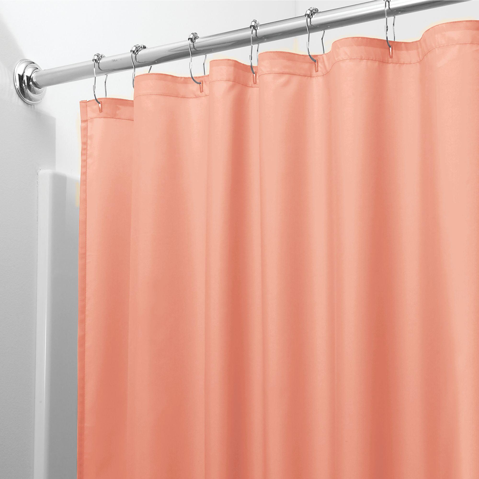 Interdesign Waterproof Fabric Shower Curtain Liner Standard