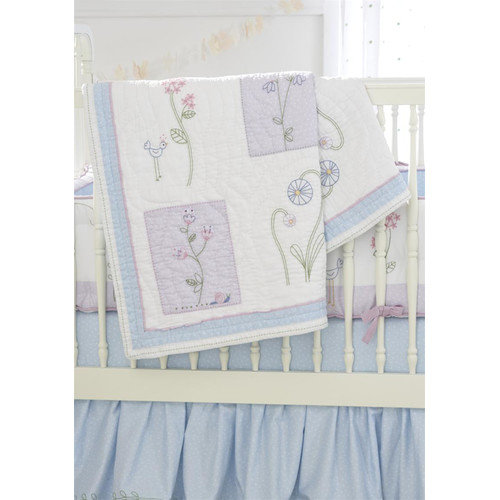 Whistle and Wink Wildflower 3 Piece Crib Bedding Set