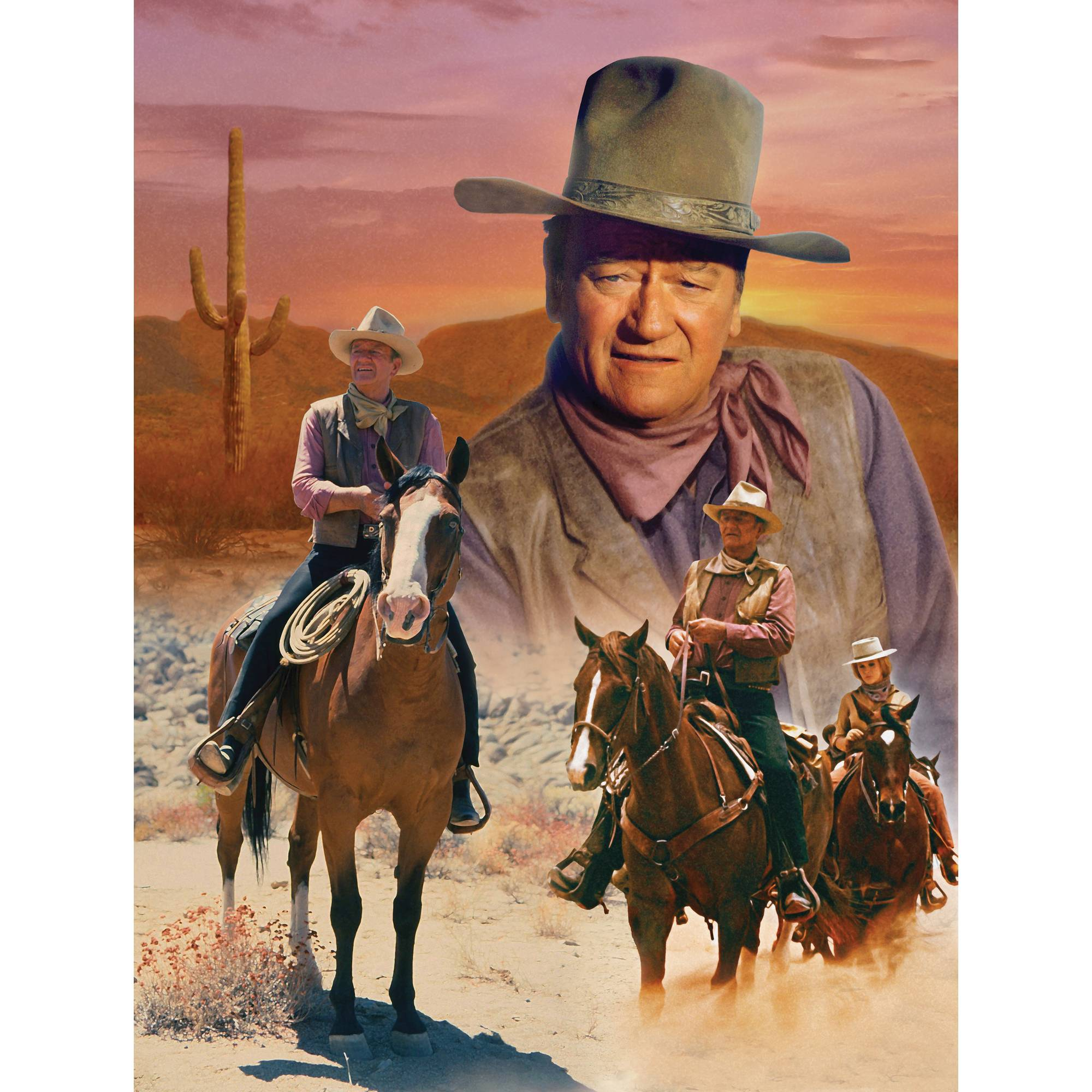 MasterPieces The Cowboy Way 1000 Piece Puzzle