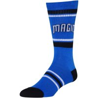 Orlando Magic Stripe Crew Socks - Blue - L