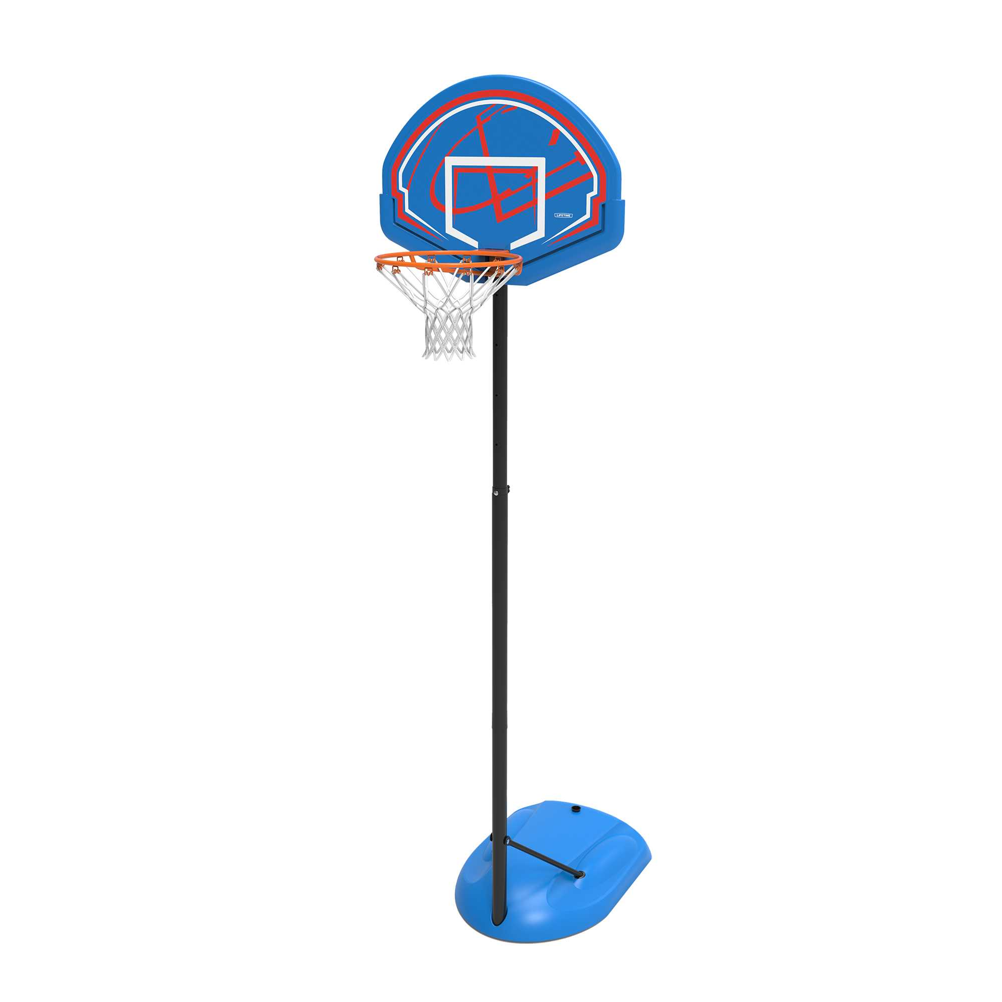 Lifetime Adjustable Youth Portable Basketball Hoop