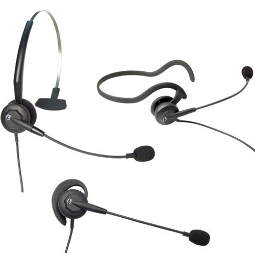 VXI 202783 Tria-V Convertible Monaural Single-Wire Headset
