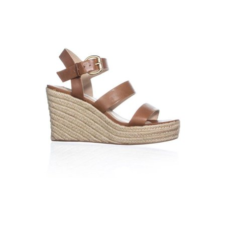 877bcbf0435 Steve Madden Womens Valery Leather Open Toe Casual Espadrille - image 1 of  2 ...