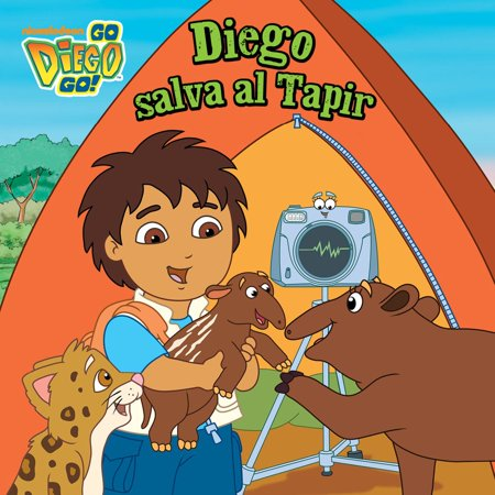 Diego salva al Tapir (Go, Diego, Go!) - eBook