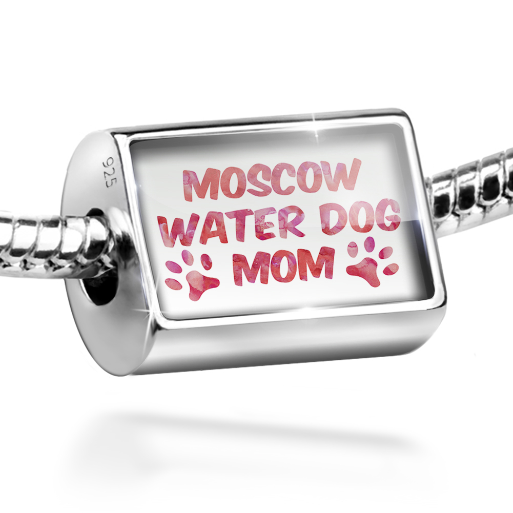 Bead Dog & Cat Mom Moscow Water Dog Charm Fits All European Bracelets