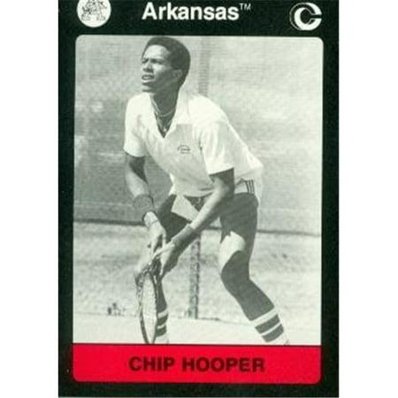 Chip Hooper Tennis Card (Arkansas) 1991 Collegiate Collection -