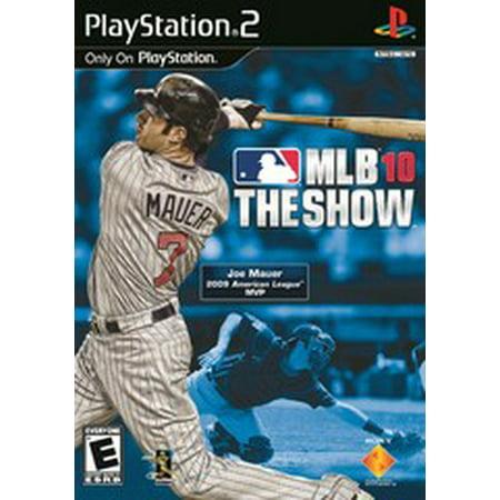 MLB 10 The Show - PS2 Playstation 2 (Refurbished)