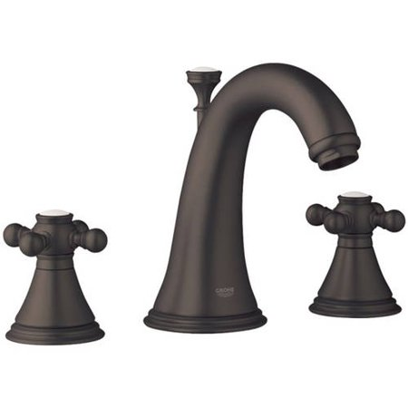 Grohe K20801-18733-ZB0 Geneva Lavatory Faucet Kit, Oil Rubbed Bronze ...