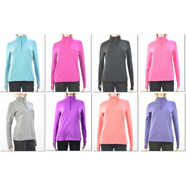 DDI 2129259 Womens Long Sleeve Active Pullover - Case of 72