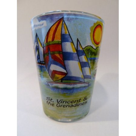 St.Vincent And The Grenadines Sailboat In-and-Out Shot - Sail Glass