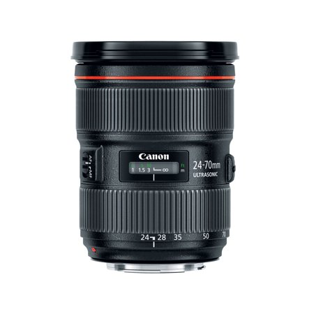 Canon 5175B002 24 Mm   70 Mm F 2 8 Zoom Lens Version 2 For Canon Ef Ef S   82 Mm Attachment   2 9X Optical Zoom   Usm