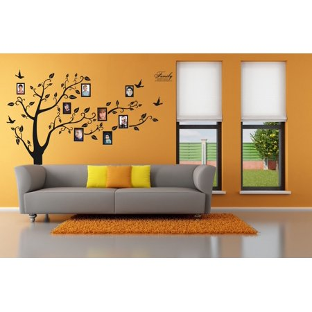 3 x 4 Wall Decor Decal Family Tree Sticker Best Home Decorations Beautiful Bed Room