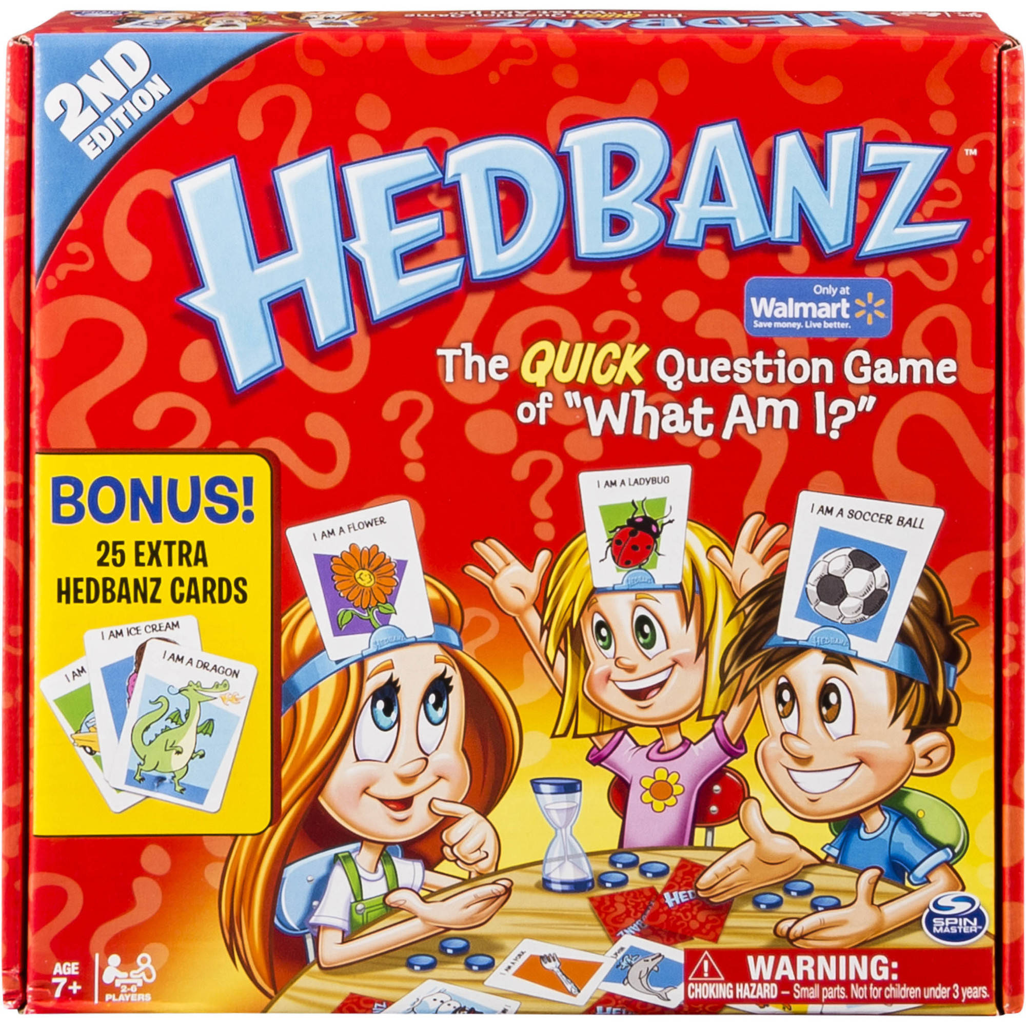 Spin Master Games Hedbanz Card Game, Walmart Exclusive