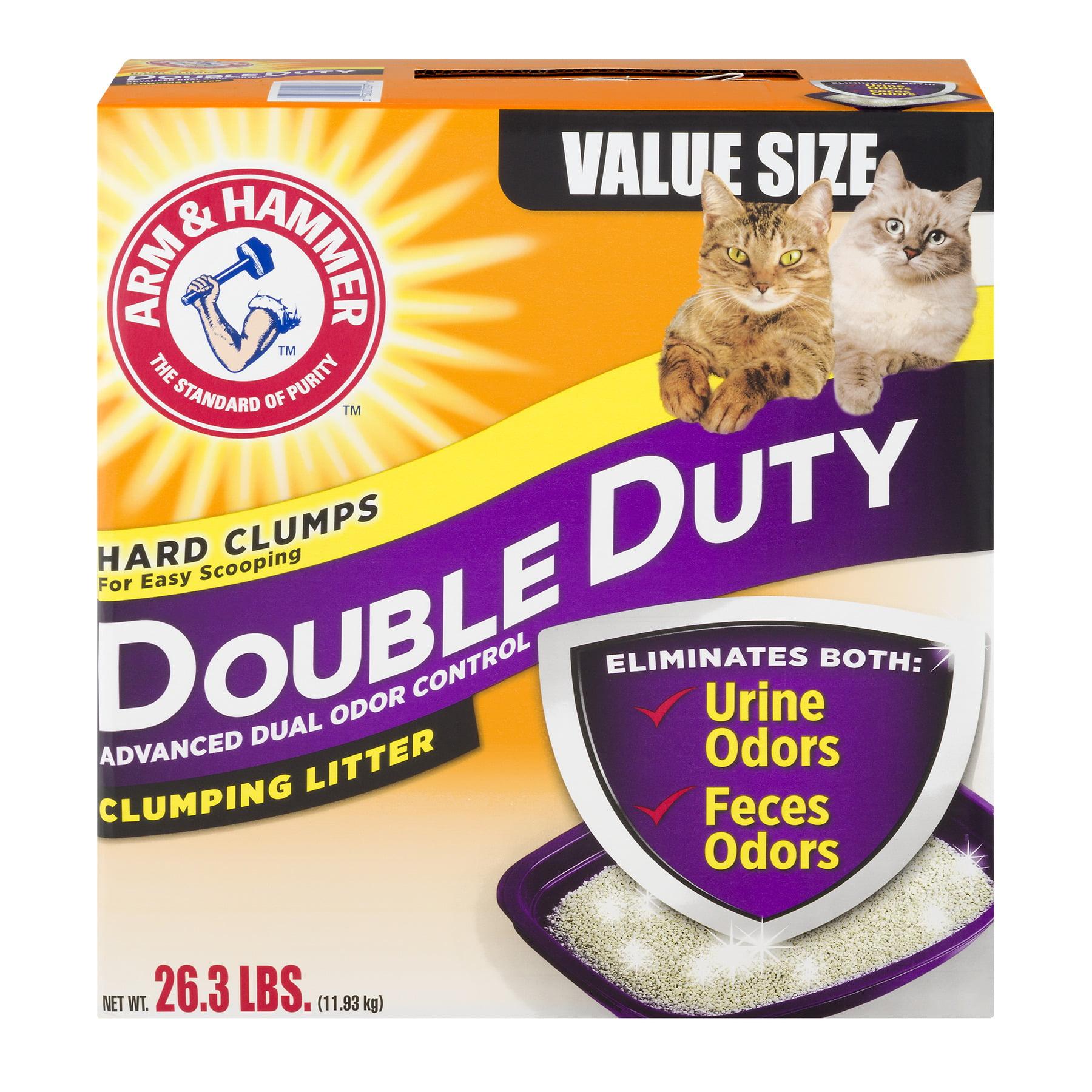 CHURCH & DWIGHT COMPANY 02297 26.3LB Double Duty Litter